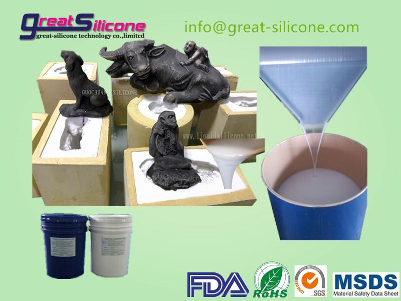 China manufacture of 30shore A platinum cure liquid silicone